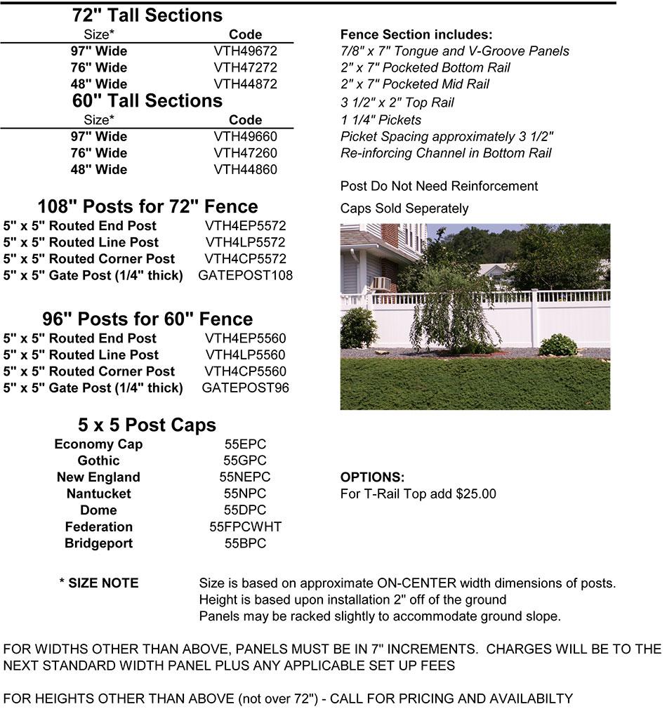 Tahoe 4 Information