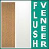 Wood Veneer Flush