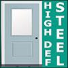 High Definition Steel Door