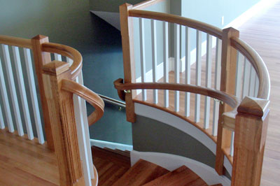 Stair Treads from Straight to Winders