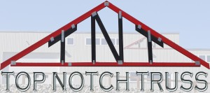 Top Notch Truss Logo and Building