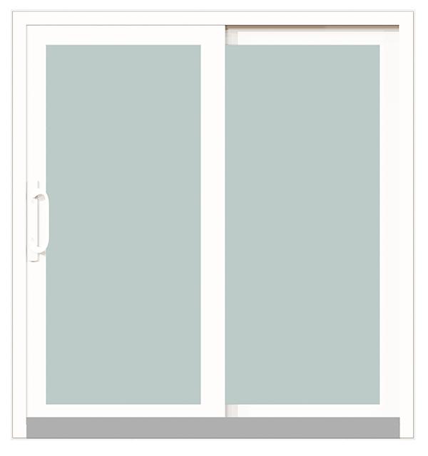 DuraGard-patio-door-inside-view