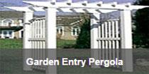 Garden Entry Pergola