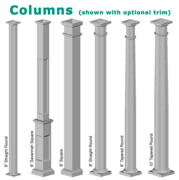 Columns with Trim