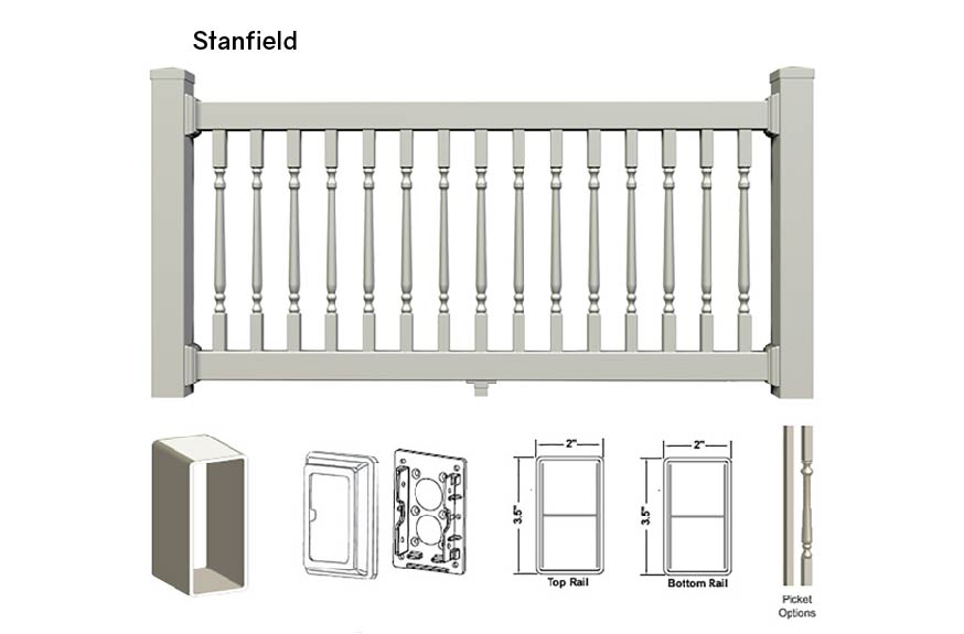 Stanfield Railing