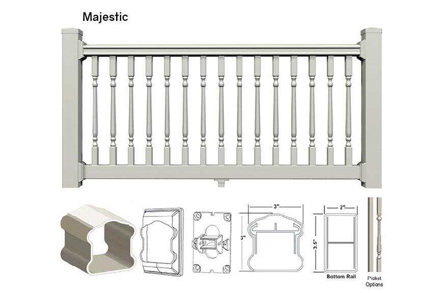 Majestic Railing